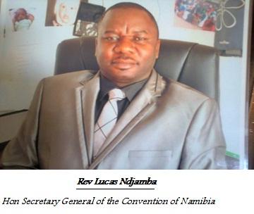 Rev Lucas Ndjamba