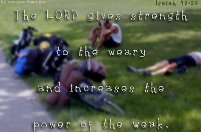 STRENGTH TO THE WEARY (1)